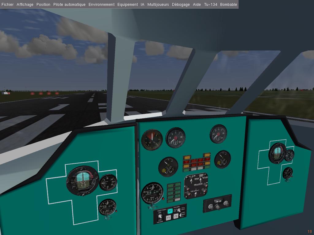 Panel du Tu 134