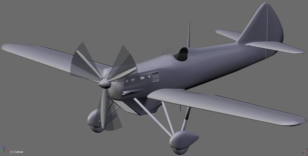 Avion pour la patrouille D510-2